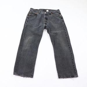 90s Levis 501xx Mens 34x29 Button Fly Jeans Black